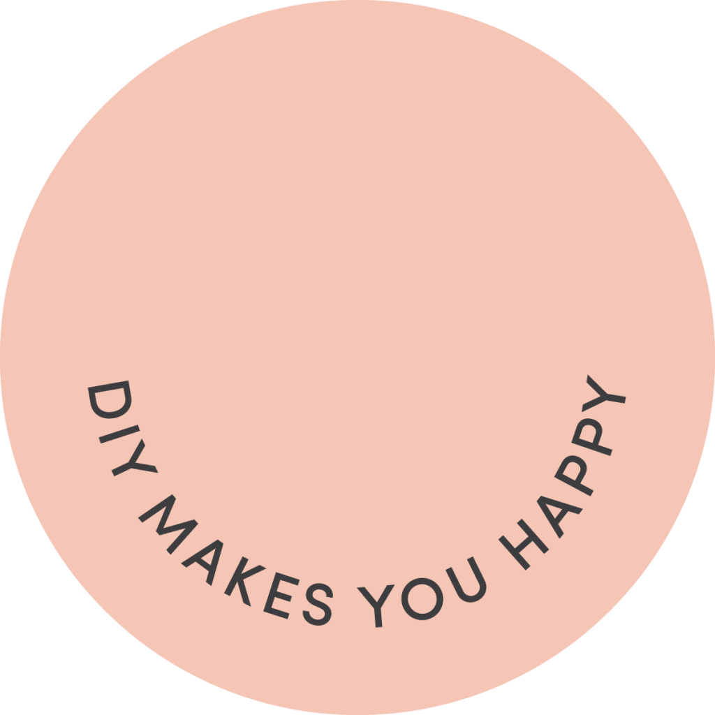 DIY makes you happy