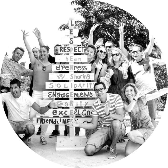 atelier arbre des valeurs aux pensières de la fondation mérieux, moment de créativité et d'intelligence collective autour des valeurs de l'équipe des pensières